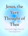 Jesus The Very Thought Of Thee Sheet Music