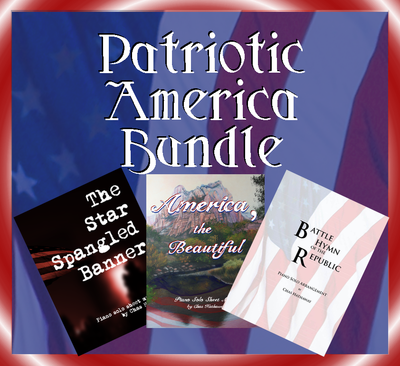 Patriotic America Sheet Music Bundle