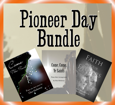 Pioneer Day Sheet Music Bundle
